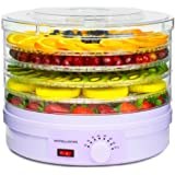 Andrew James Food Dehydrator With Adjustable Temperature Control - 5 Levels