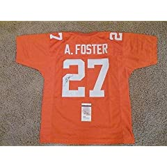 Signed Arian Foster Jersey - JSA Certified - Autographed College Jerseys