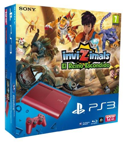 playstation-3-consola-12-gb-color-rojo-invizimals-el-reino-escondido