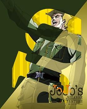 ジョジョの奇妙な冒険 Vol.5  (柱の男レリーフマウスパッド、全巻購入特典フィギュア応募券付き)(初回限定版) [Blu-ray]