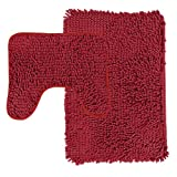 Amy Miller 2-Piece Bath Rug Set, Red