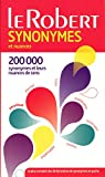 Dictionnaire des synonymes et nuances