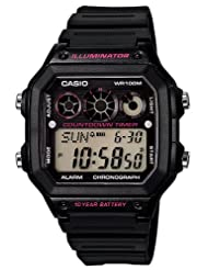 Casio Youth Digital Digital Multi-Color Dial Men's Watch - CASIO_AE-1300WH-8AVDF