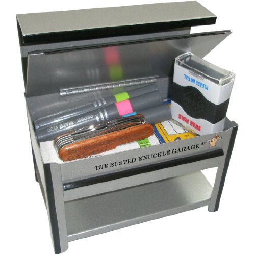 Busted Knuckle Garage BKG-175-WB Miniature Workbench with Storage