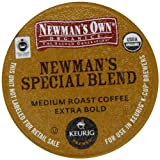 Newmans Own Organics * SPECIAL BLEND * Extra Bold, 96 K-Cups for Keurig Brewing Systems