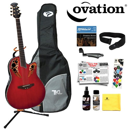 Ovation iDea Celebrity Acoustic-Electric Guitar with Built ...