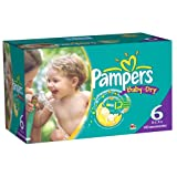 Pampers Baby Dry Diapers Economy Plus Pack Size 6 140 Count
