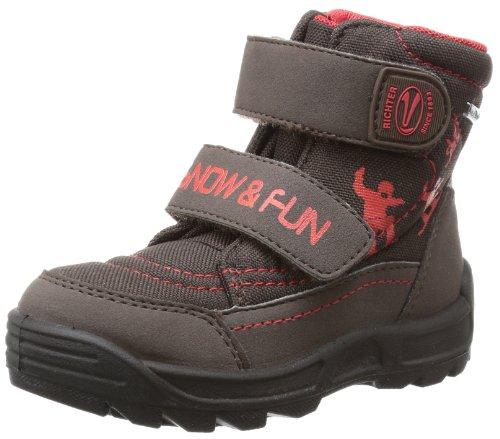 Richter Kinderschuhe Boys Freestyle Snow Boots Brown Braun (coffee/fire 9501) Size: 25