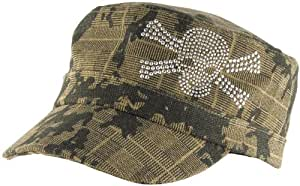 ZANheadgear Highway Honey 100 Percentage Cotton Studded Ladies Cap