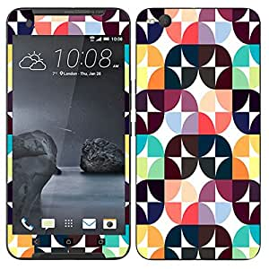 Theskinmantra Rectang Cubes mobile skin for HTC One X9
