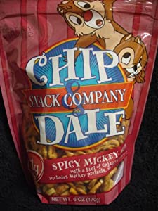 Disneys Chip Dale Snack Company Spicy Mickey Mix Family Size 6oz170g