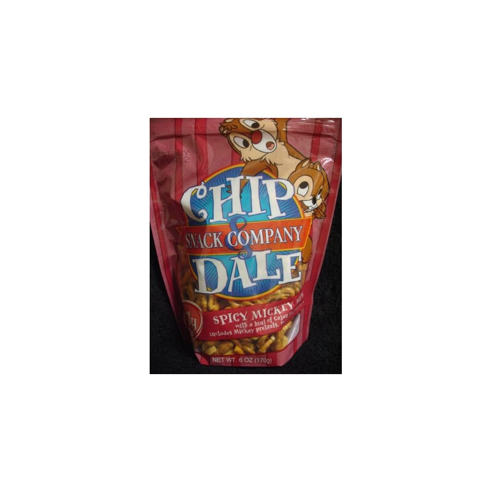 Chip & Dale Snack Company  Spicy Mickey Mix  Family Size 6oz/170g