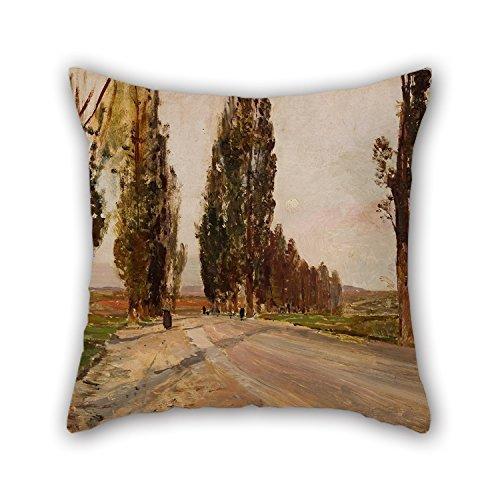 bestseason-oil-painting-emil-jakob-schindler-boulevard-of-poplars-near-plankenberg-cushion-cases-bes