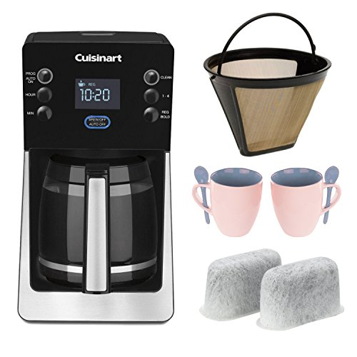 Cuisinart Coffee Maker No Filter : Cuisinart DCC2800 Perfectemp 14-cup Programmable Coffeemaker + Cuisinart GTF Gold Tone Filter ...