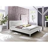 Polsterbett Bett 5021040000 Kunstleder weiß 160x200cm
