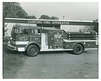 1970 duplex sanford syracuse ny fire truck factory photo for Mercedes benz of syracuse fayetteville ny