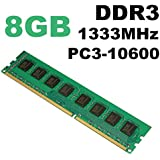 Alcoa Prime 8GB DDR3 PC3-10600 1333MHz Desktop PC DIMM Memory RAM 240 Pins For AMD System Memory New Electric Boards Modules