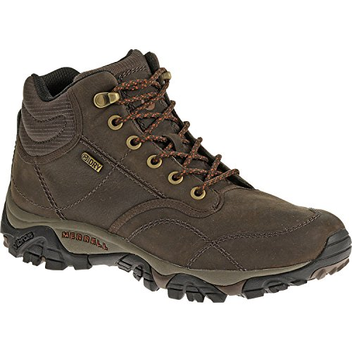 f1bcc59311e MERRELL Moab Rover Mid Waterproof Men s Hiking Boot Brown US12 5 ...