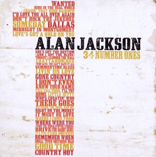 Alan Jackson - 34 Number Ones - Zortam Music