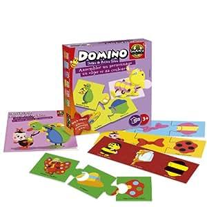 Bioviva - 0101002105 - Jeu de Société - Domino - Drôles de Petites Bêtes