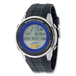 Mens NBA Denver Nuggets Schedule Watch by Jewelry Adviser Nba Watches