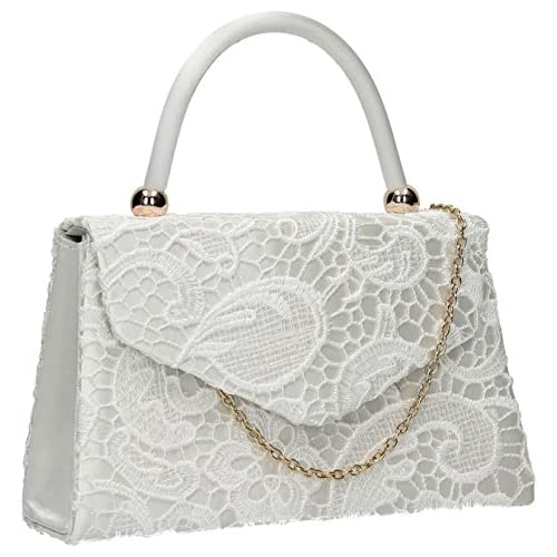 Kendall Lace Flapover Smart Elegant Ladies Clutch Evening Bag
