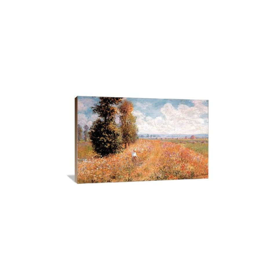 Paysage Pres de Giverny   Gallery Wrapped Canvas   Museum Quality  Size 36 x 24 by Claude Monet