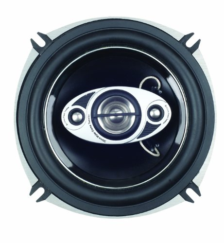 "Boss Audio P55.4C Phantom 300-Watt 4 Way Auto 5.25"" Coaxial Speaker"