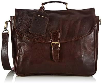 Cowboysbag Bag Miami 1066 Unisex-Erwachsene Henkeltaschen 40x30x9 cm (B x H x T), Braun (Brown 500)