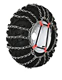 Grizzlar GTU-240 Garden Tractor 2 link Ladder Style Tire Chains 4.00x4.80-8 4.80-8
