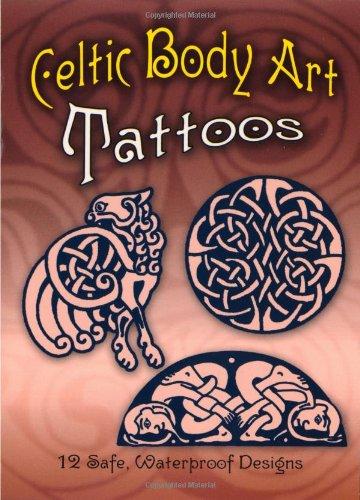 Celtic Body Art Tattoos (Temporary Tattoos)