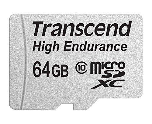 Transcend 高耐久 microSDXCカード MLCフラッシュ搭載 ( ドライブレコーダー向けメモリ ) 64GB Class10 2年保証 TS64GUSDXC10V