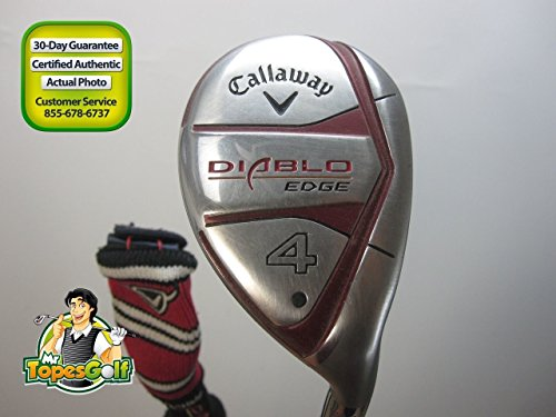 Callaway Diablo Edge 4 Hybrid 24 deg Graphite H-60G Regular Flex Headcover 22788A (Diablo Edge Hybrid compare prices)
