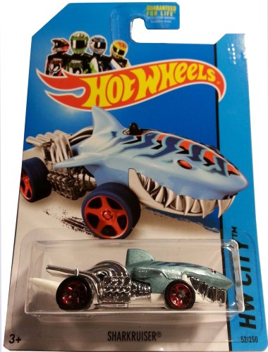Sharkcruiser Hot Wheels 2014 Hw City Series 1:64 Scale Collectible Die Cast Sports Electric Car #52/250