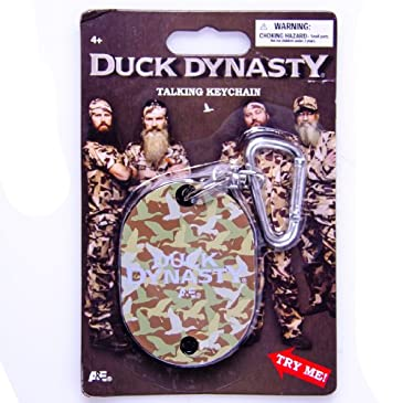 Duck Dynasty Talking Keychain