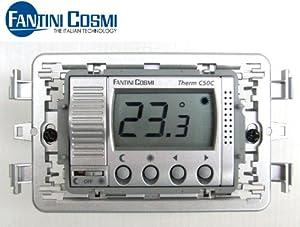 Termostato ambiente digitale da incasso fantini cosmi c50c for Termostati fantini cosmi prezzi