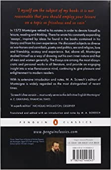 classics essay penguin The complete essays by michel de montaigne - this penguin classics edition of the complete essays is translated from the french and edited with an read the.