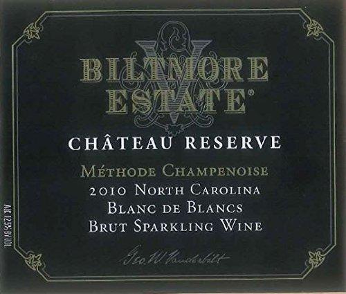 2010 Biltmore Estate Château Reserve Blanc De Blancs Sparkling Brut North Carolina 750 Ml
