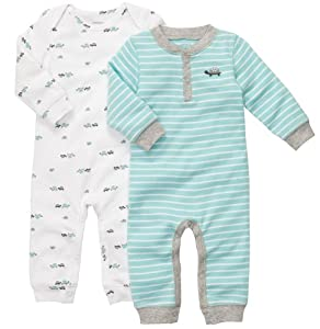 Carter's Baby-boys Jumpsuits (2 Pack) from Carters
