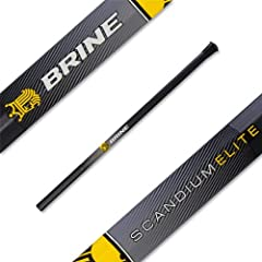 Buy Brine Scandium Elite Defense Lacrosse Shaft by Brine