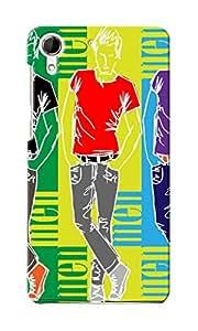 KnapCase Fashion Men Designer 3D Printed Case Cover For HTC Desire 728