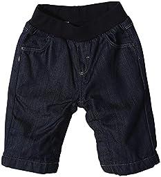 Petit Bateau Denim Pants (Baby) - Navy-3 Months
