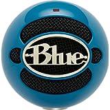 Micrófono Blue Snowball conexión USB, color Azul eléctrico.
