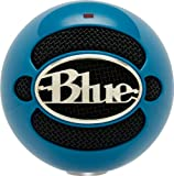 Blue Microphones Snowball USB Microphone (Electric Blue)