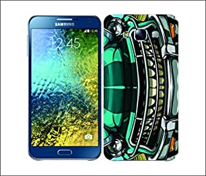 Galaxy Printed 2074 Gas Guzzlers Sleek Vintage Hard Cover for Samsung GRAND 2