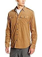 Columbia Camisa Hombre Windward Iii Overshirt (Marrón Claro)