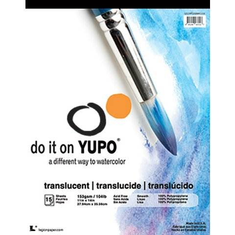 yupo-polypropylene-pad-translucent-104-9-x-12-inch-pad-15-sheets