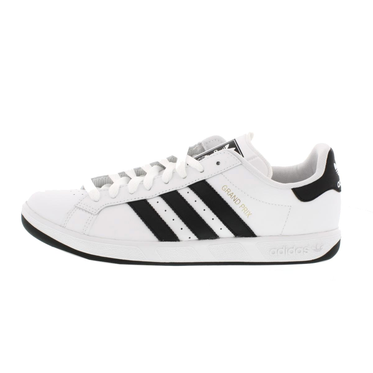 adidas originals grand prix shoes running white black. Black Bedroom Furniture Sets. Home Design Ideas