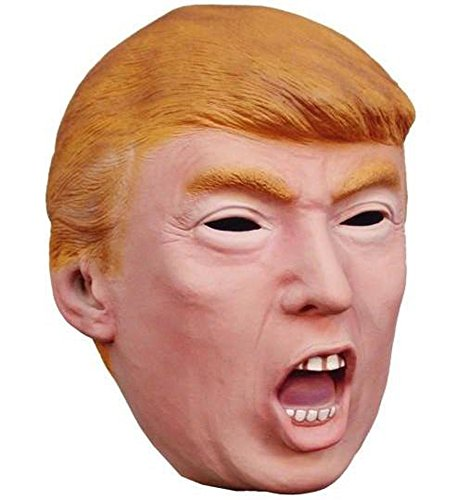 Donald Trump Mask Halloween Costume Idea