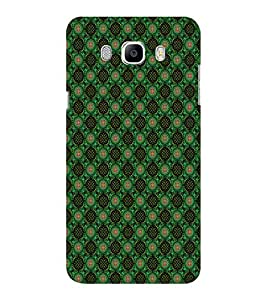 EPICCASE greenish florist Mobile Back Case Cover For Samsung J5 2016 (Designer Case)